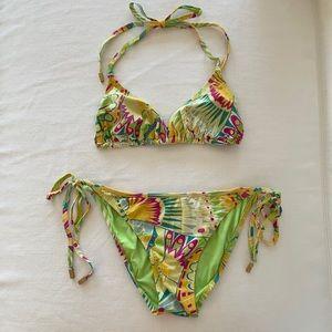 Elizabeth Hurley Beach Bikini Swimsuit